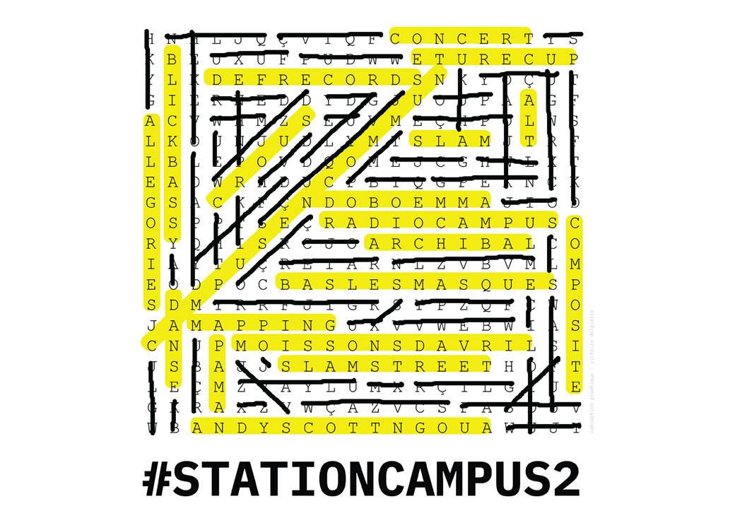 Station campus 2 etape 1 entre lumi res obscurit s for Lecteur biometrique exterieur